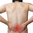 Pain in back — Stock Photo #50851311