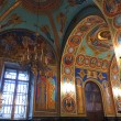 Stock Photo: Gold ornated interior of orthodox church