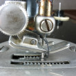 Old industrial sewing machine detail — Stock Photo #2275182