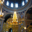 Gold ornated interior of orthodox church — Lizenzfreies Foto