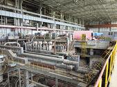 Power generator and steam turbine during repair — Stock Photo