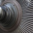 Power generator steam turbine during repair at power plant — Foto de stock #29982977