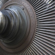 Stockfoto: Power generator steam turbine during repair at power plant