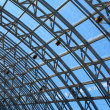 Structures of skylight glass roof window — Stock Photo #29983217