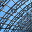 Structures of skylight glass roof window — Stock Photo #31287191