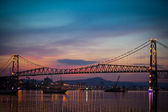 Bridge at Sunset — Stock Photo