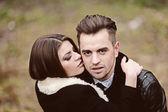 Portrait de couple affectueux — Photo