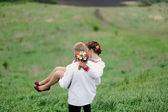Portrait of affectionate couple  — Stockfoto