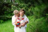 Portrait of affectionate couple  — Stock Photo