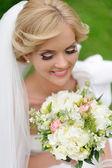 Jonge bruid — Stockfoto