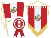 Peru flags