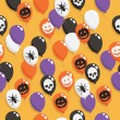 Halloween balloons — Stock Vector