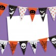 Halloween party card — Stock vektor