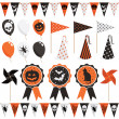 Halloween party pack — Stock Vector #12300881