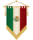 Mexico pennant — Stock Vector