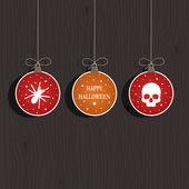 Halloween decoration — Stock Vector