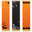Halloween wall hangings — Stock Vector