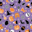 Royalty-Free Stock Vector Image: Halloween pattern