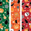 Stock Vector: Halloween banners