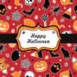 Halloween frame - Stock Vector