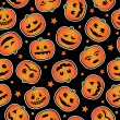 Royalty-Free Stock Imagem Vetorial: Halloween pumpkin pattern