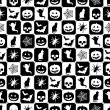 Halloween pattern — Stock vektor
