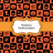 Halloween wrapping — Stock Vector
