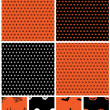 Halloween patterns — Stock vektor #13493869