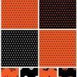 Halloween patterns — 图库矢量图片 #13493869
