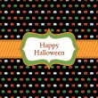 Stock Vector: Halloween wrapping