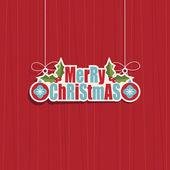 рождественские украшения — Cтоковый вектор
