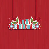 Dekorację świąteczną — Wektor stockowy