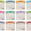 Calender for 2013 — Stock Vector