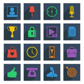 Media icons set 4 — Stock Vector