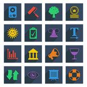 Media icons set 5 — Stock Vector
