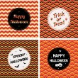 Halloween cards — Stock Vector
