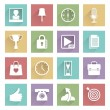 Soft media icons set 4 — Stock Vector