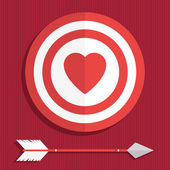 Valentine decoration — Stock Vector