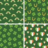 Irish patterns — Stock Vector
