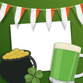 St patricks decoration — Stock Vector