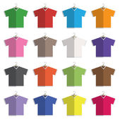V neck tshirts — Stock Vector