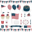 Usa decorations — Stock Vector #48308683