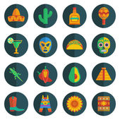 Mexican icons — Vecteur