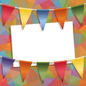 Party card — Stock Vector