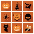 Halloween icons — Stock Vector #51125071
