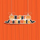 Halloween dekoration — Stockvektor