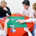 Private poker game — Stock Photo #11864378