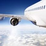 Постер, плакат: Airliner in flight