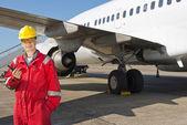 Aircraft Engineer — Stock Photo