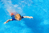 Swimming Lessons — Stock Photo